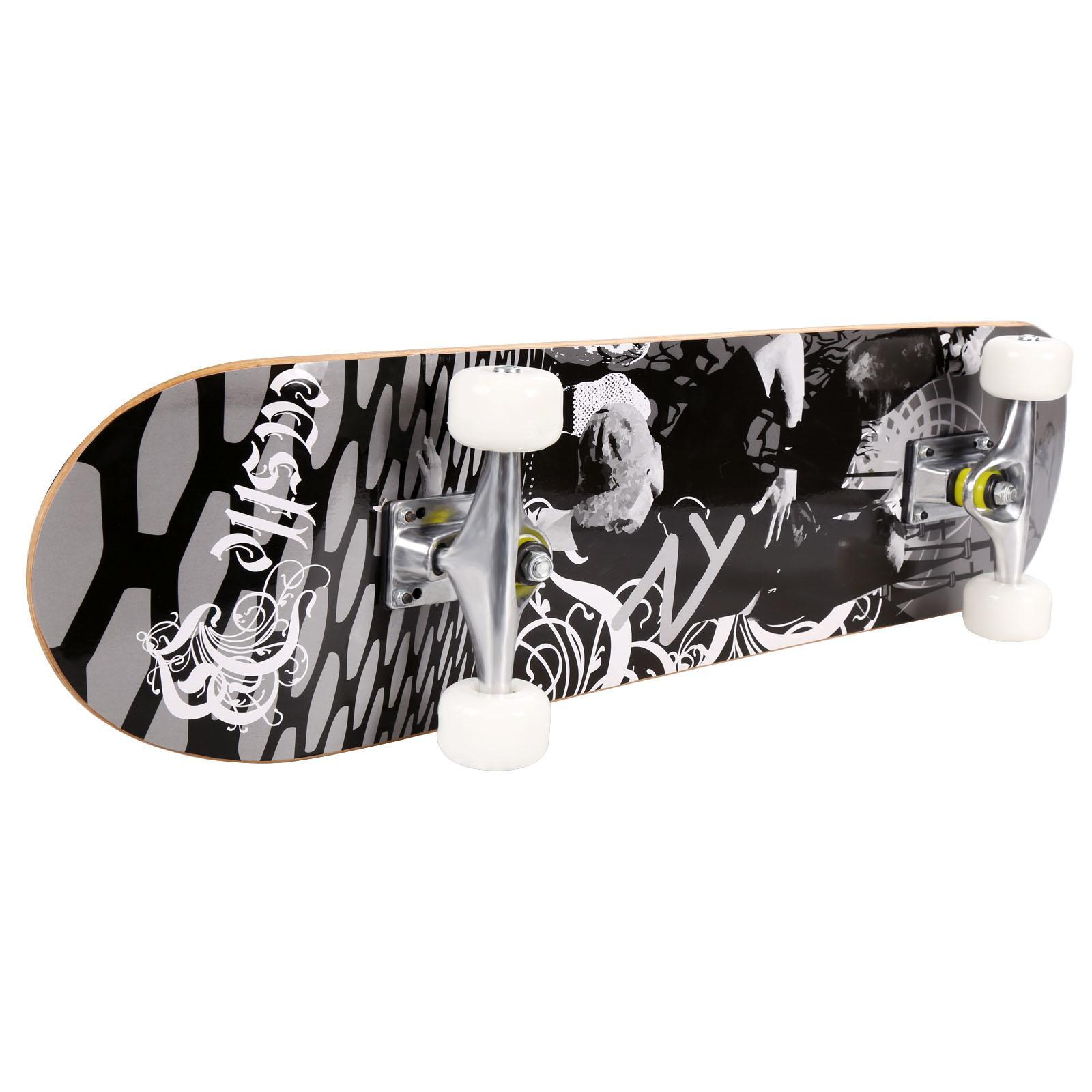 "Christmas Clearance&Sale!! 30.6"" PU wheels Longboard Complete Deck Skateboard FSBR"