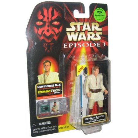 Star Wars Episode I The Phantom Menace Obi-Wan Kenobi Jedi Knight Action Figure ()
