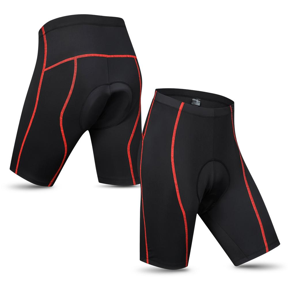 Mens Bicycle Bike Underwear Short Pants with Cushion Cycling Shorts Tights