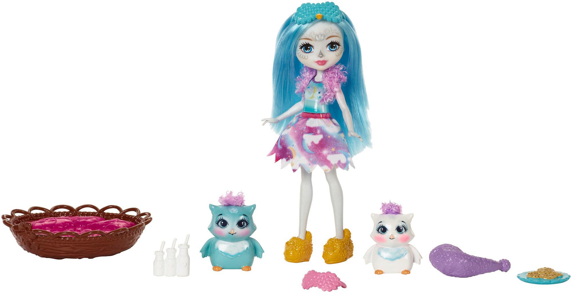 Enchantimals Sleepover Night Owl Dolls by Mattel