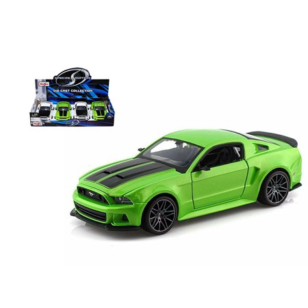 MAISTO 1:24 DISPLAY SPECIAL EDITION 2014 FORD MUSTANG STREET RACER SET OF 2 34506 NO RETAIL BOX Ford Fusion Racer