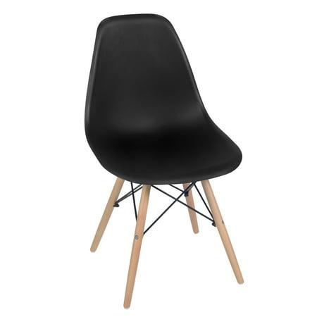 Fabulous Cassini Armless Dining Chair Black Beechwood Alphanode Cool Chair Designs And Ideas Alphanodeonline