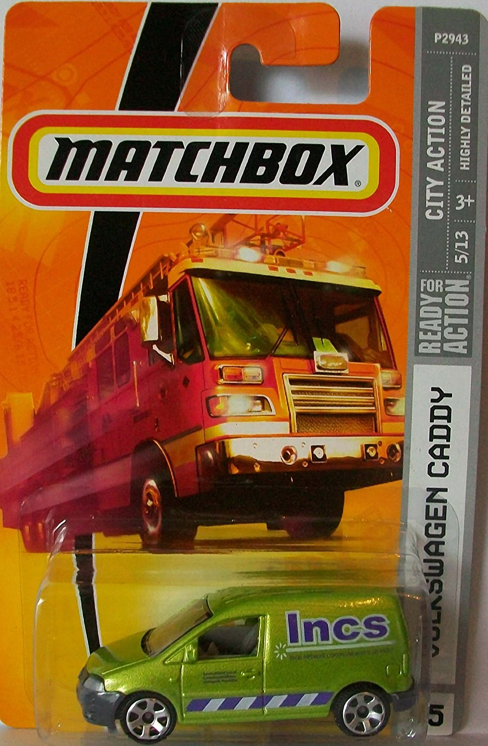 2009 #45 Volkswagen Caddy, By Matchbox by