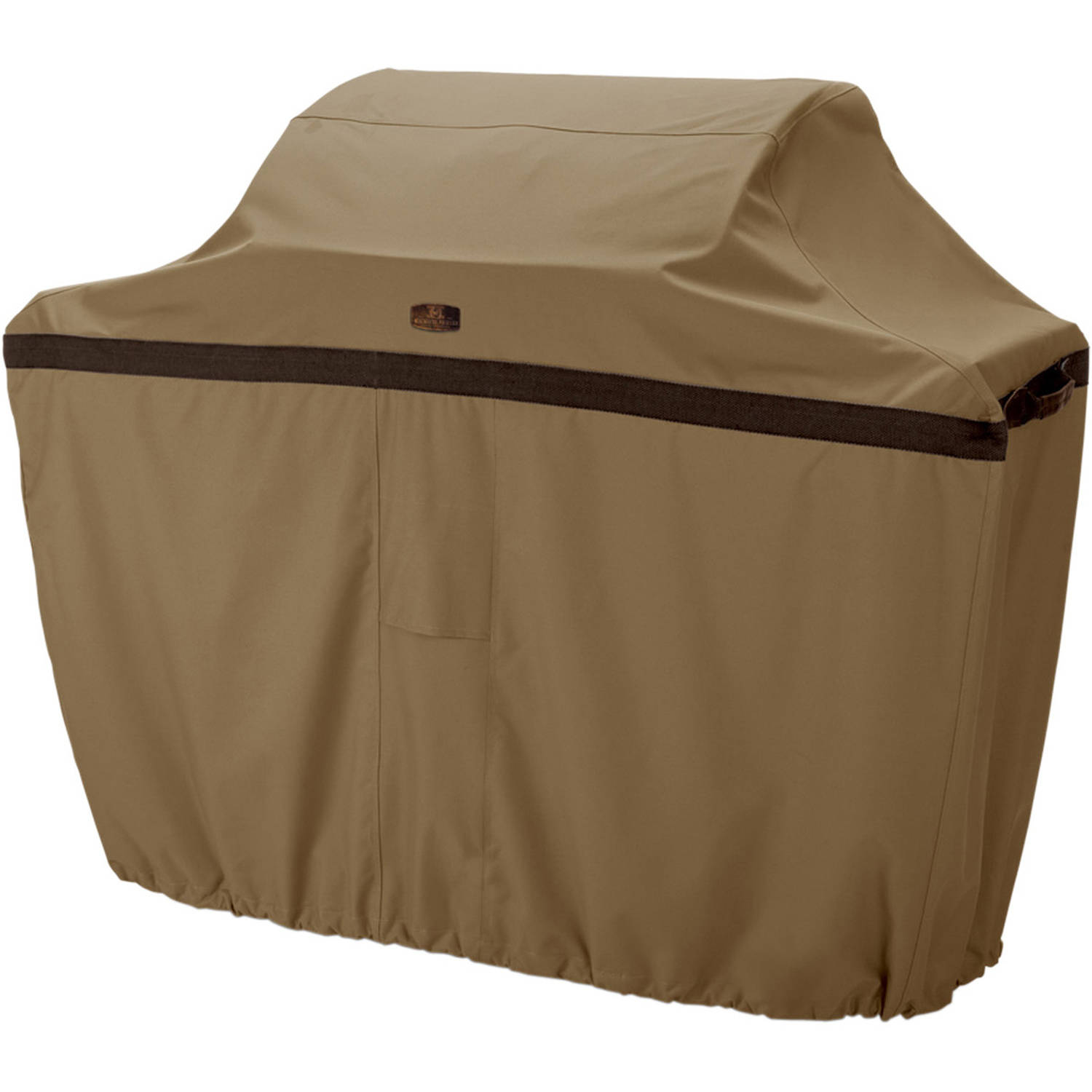 "Classic Accessories Hickory Barbecue BBQ Grill Patio Storage Cover, Up to 58"" Wide, Medium"