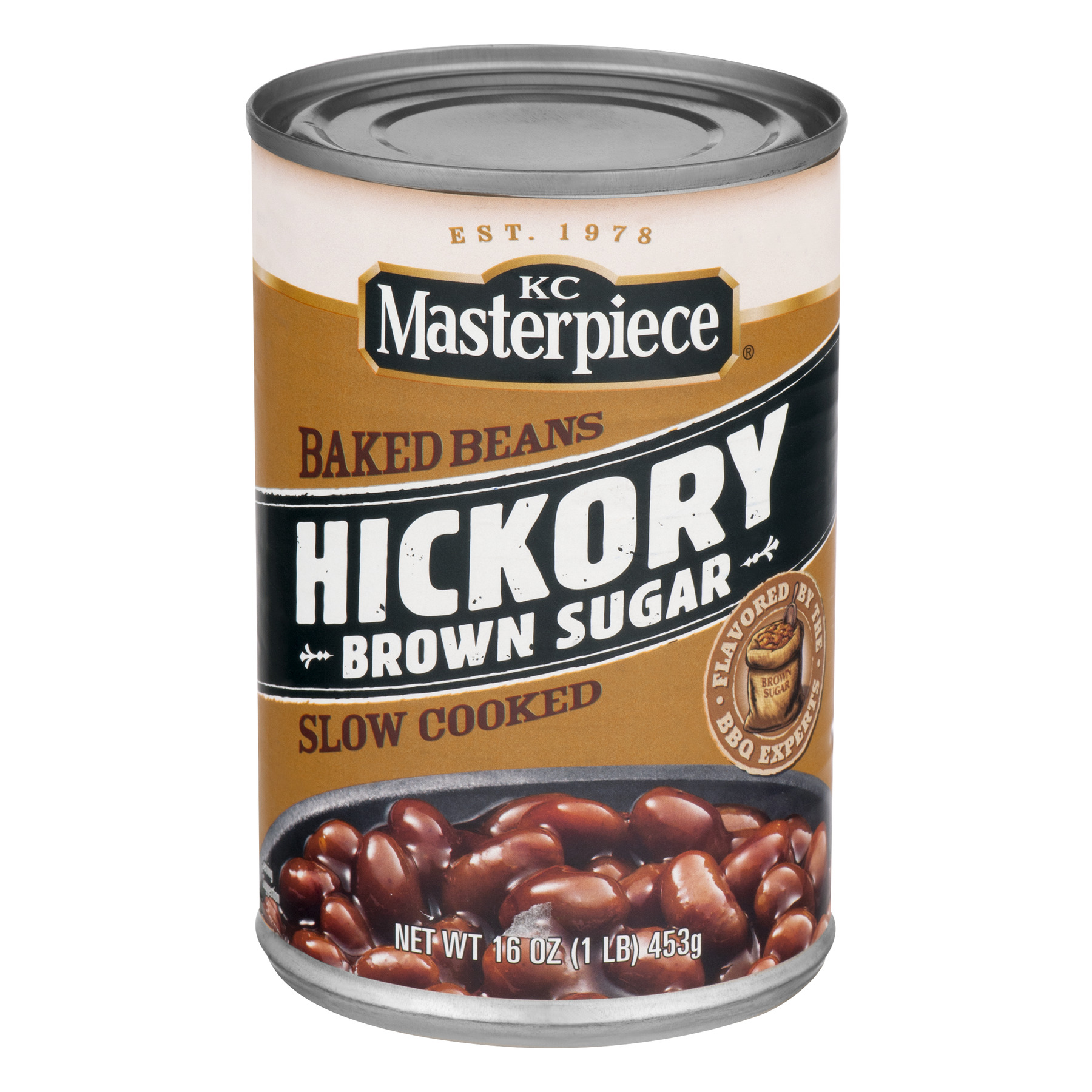 KC Masterpiece Hickory Brown Sugar Baked Beans, 16 oz