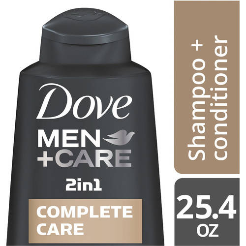 Dove Men+Care Complete Care 2 in 1 Shampoo and Conditioner 25.4 oz