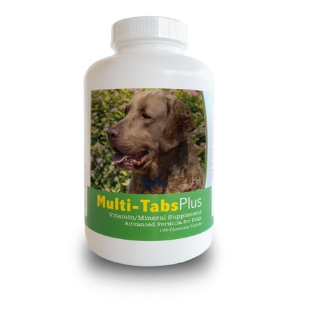 Healthy Breeds Dog Multi Tab Vitamin And Mineral Supplement For Chesapeake Bay Retriever  180 Chews