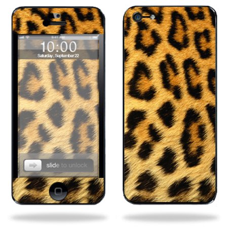 Mightyskins Protective Vinyl Skin Decal Cover For Apple Iphone 5 5S Se 16Gb 32Gb 64Gb Cell Phone Wrap Sticker Skins Cheetah
