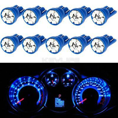 10x Blue LED Instrument Panel Lights T10 194 Dashboard Lamp for Toyota