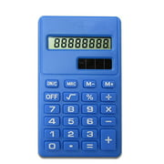 Mini Calculator 8 Digits Display Handheld Pocket Size Basic Calculator for School Students Children Office Supplies
