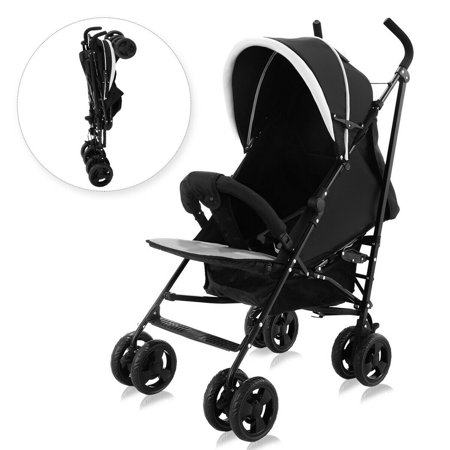 Costway Foldable Baby Stroller Buggy Kids Jogger Travel Infant Pushchair