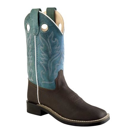 Old West Children's Ultra Flex Broad Square Toe Boots