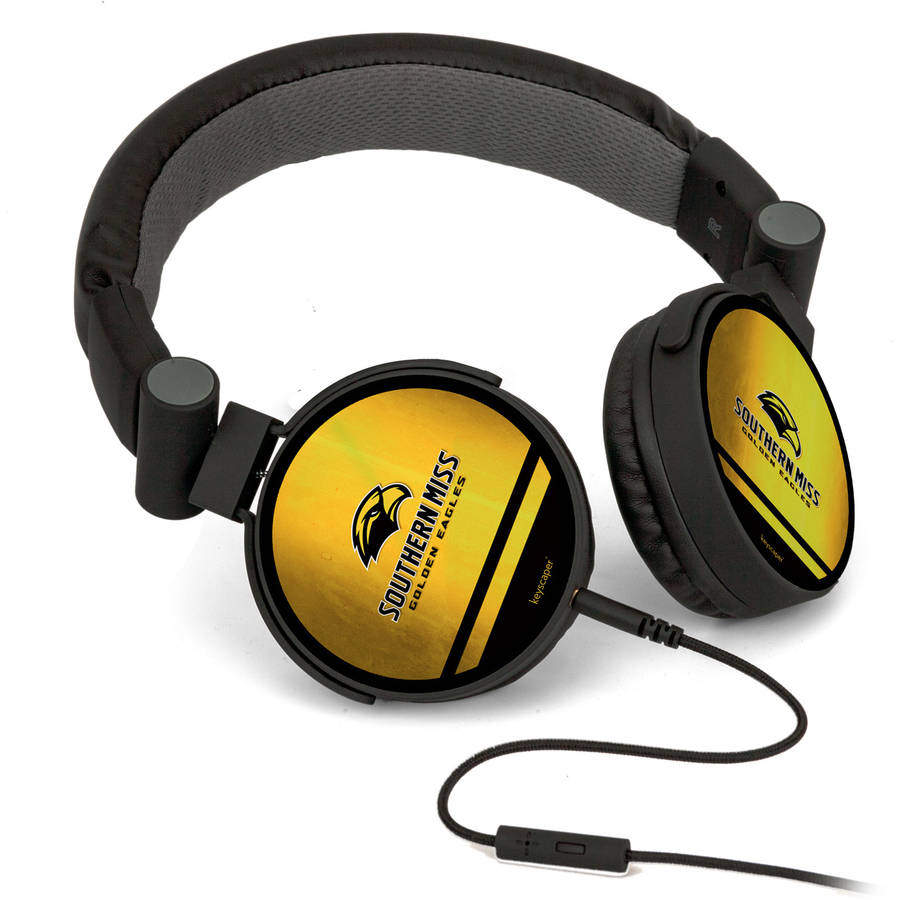 Southern Mississippi Golden Eagles DJ-Style Headphones