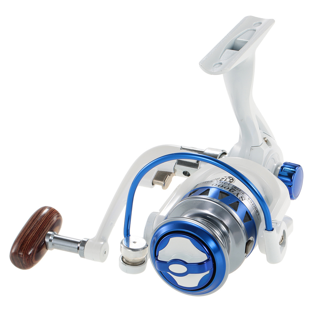 12BB Ball Bearings Fishing Reel Spinning Reel Fishing Tackle Left/Right Interchangeable Collapsible Handle
