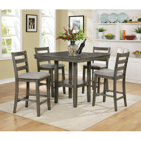 Os Home And Office Furniture 2360 Five Piece Counter Height Table Four Chairs