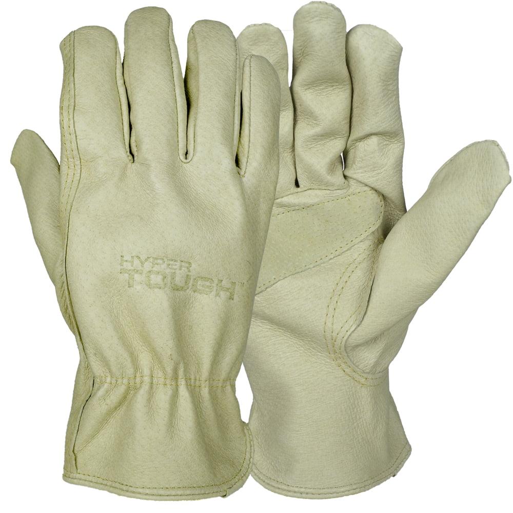 Hyper Tough Grain Leather Glove Large