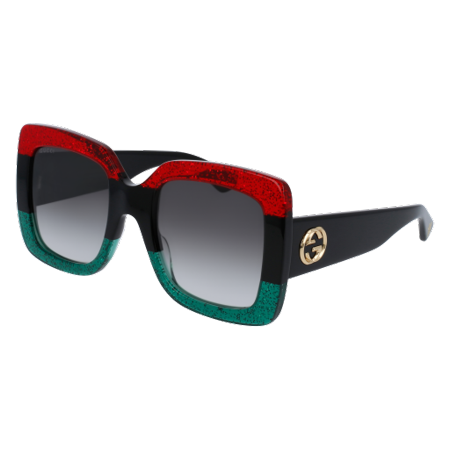 Gucci Vintage Tie - Gucci GG0083S Sunglass 55mm RED