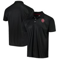 Men's Russell Athletic Black Oklahoma Sooners Embossed Polo