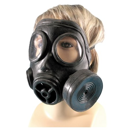 Black Mask Costume (Military Style Gas Mask)