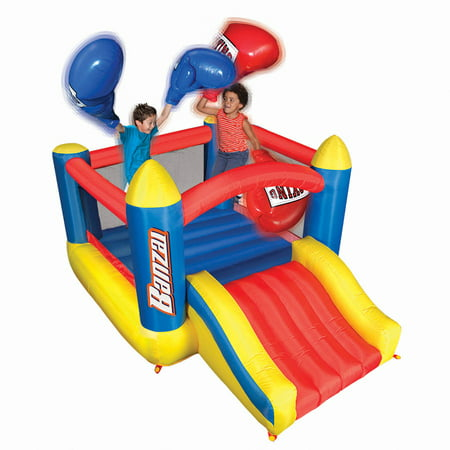 Banzai Bop N Slide Bounce House with 2 Sets of Boxing Gloves