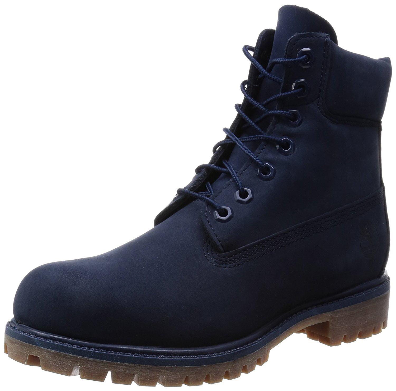 Timberland Mens 6 Inch Premium Boot Navy Monochrome 11 TB06718B484-110M by Timberland