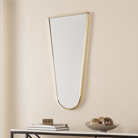 Southern Enterprises Accela Decorative Mirror, Glam Style, (Bass Mirror)