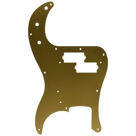 57 Precision Bass - (10-Hole) Gold Anodized, 1-Ply, Genuine Fender Replacement Part By