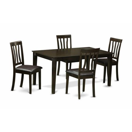 5 Piece Dining Room Set Dining Table And 4 Dining Room Chair