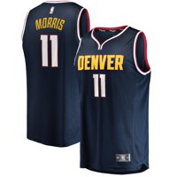 Monte Morris Denver Nuggets Fanatics Branded Fast Break Player Jersey - Icon Edition - Navy
