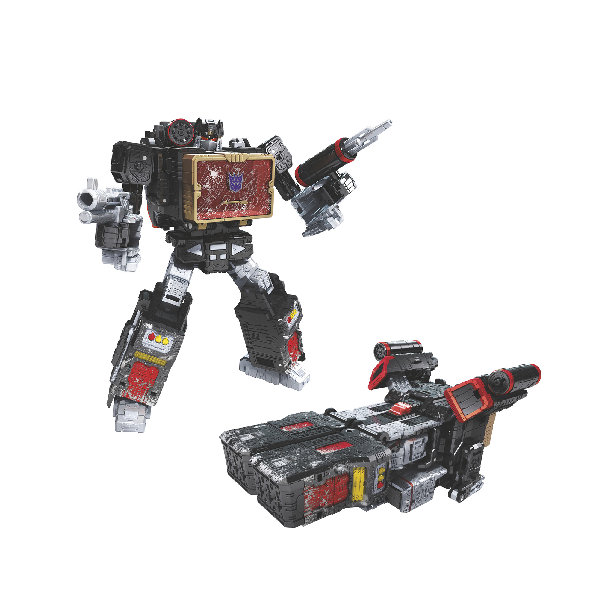 Transformers War for Cybertron Voyager 35th Anniversary WFC-S55 Soundblaster
