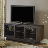 """Ameriwood Home Englewood TV Stand for TVs up to 55"""", Weathered Oak"""