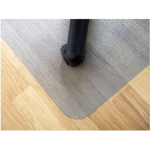 "Floortex Ecotex 100% Post Consumer Recycled Rectangular Chairmat For Hard Floors, 48"" x 79"", Tinted"