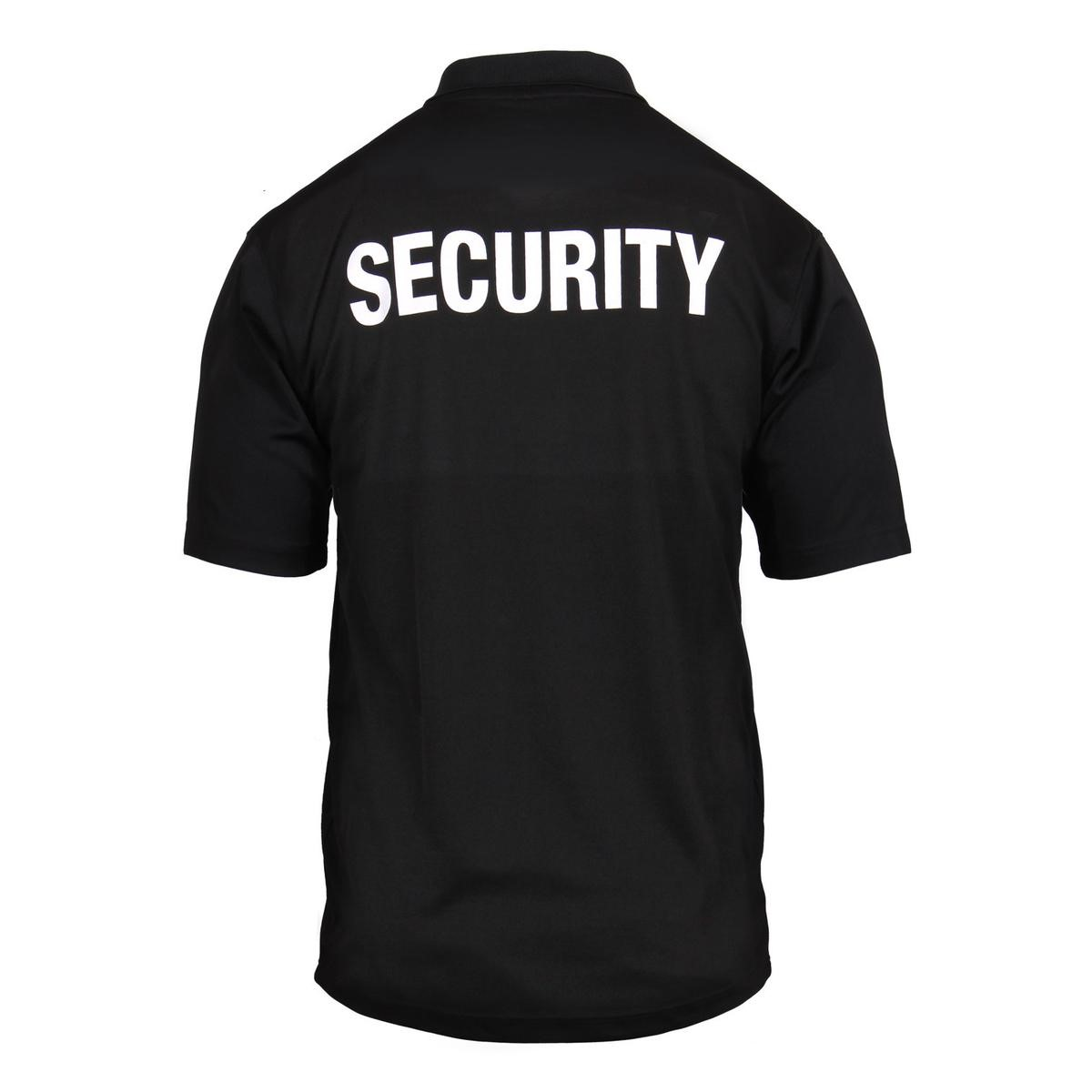 Rothco - Rothco Moisture Wicking Security Performance Polo Shirt With  Badge 33e38127627