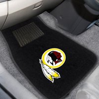 Washington Redskins 2-Piece Embroidered Car Mat Set