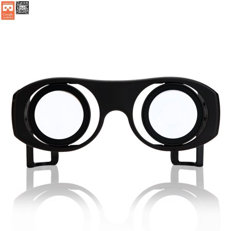 Virtual Reality Goggles Goggle Tech C1-Glass 3D Glasses for 3D Images & Videos on Android & iOS Smartphones