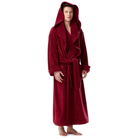 Arus - Men s Luxury Medieval Monk Robe Style Full Length Hooded Turkish Terry  Cloth Bathrobe - Walmart.com fa5e08964