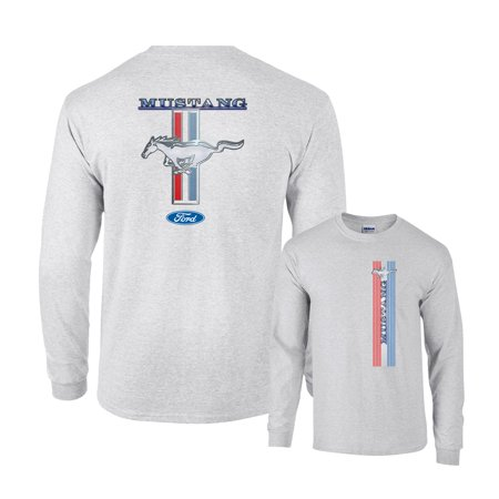 Custom Racing Shirts (Ford Mustang Racing Stripe Pony 5.0 Long Sleeve)
