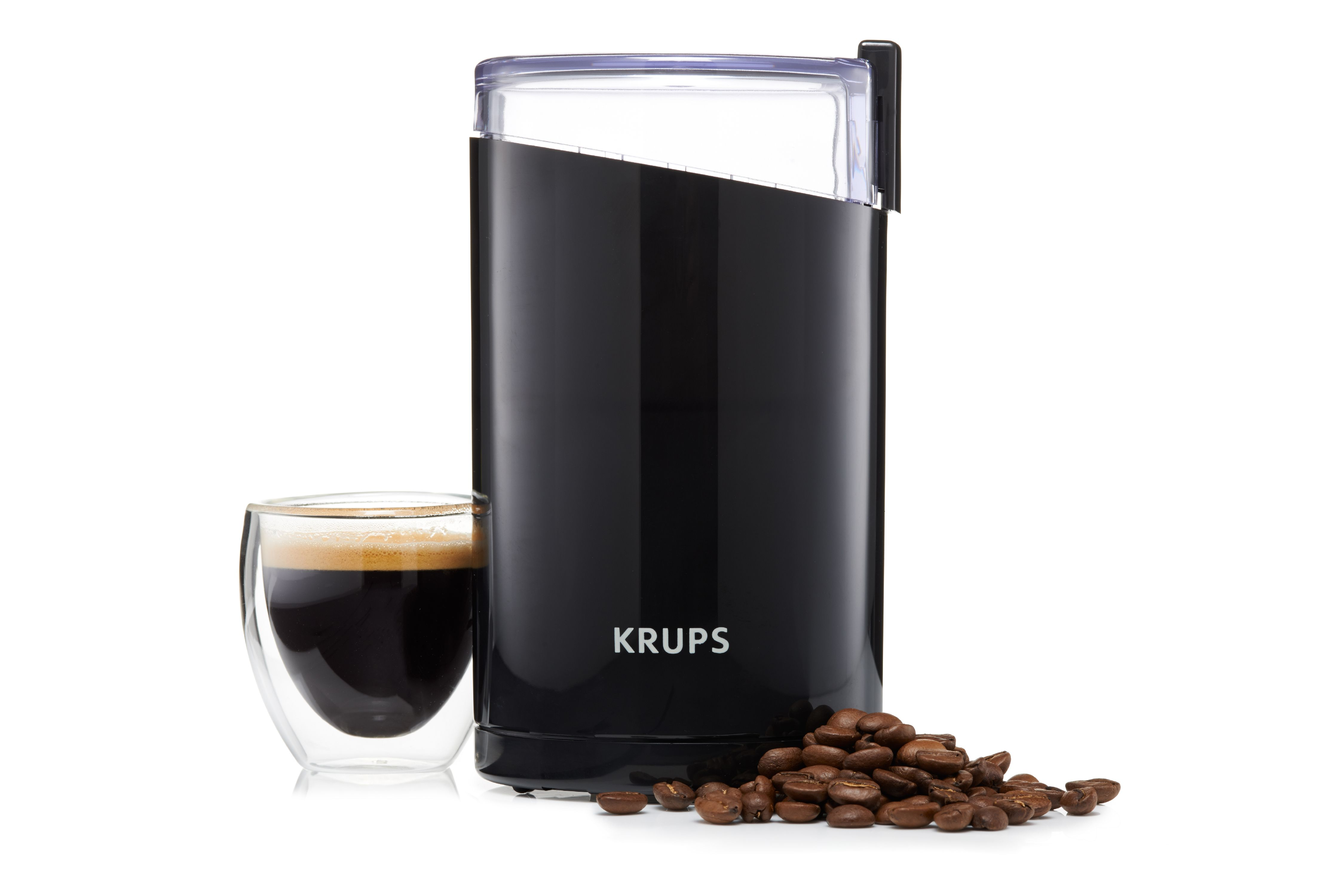 krups, electric coffee and spice grinder, stainless steel blades