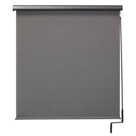 Keystone Fabrics Premier 4' x 8' Pole Operated Outdoor Sun Shade with Protective Valance, Biscayne ()
