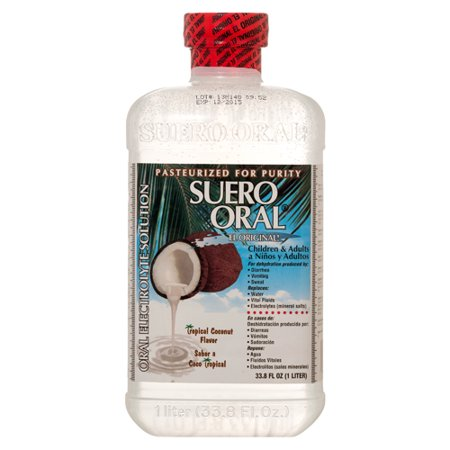New 337671  Electrolyte Suero Oral 1Lt Coconut (8-Pack) Cough Meds Cheap Wholesale Discount Bulk Pharmacy Cough Meds Fashion