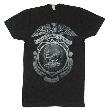 Five Finger Death Punch Helmet Bonehead Black T