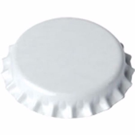 White Barrier Free Barrier (White Oxygen Barrier Crown Caps 144 Count by Home Brew Ohio)