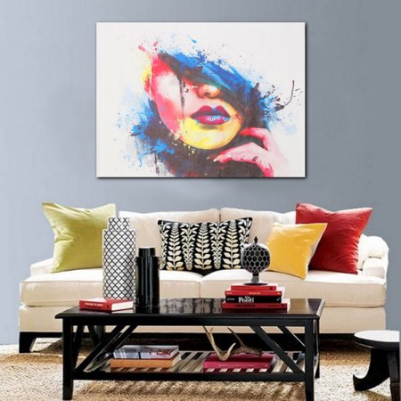 Abstract Canvas Modern Home Decor Wall Art Painting Picture Print No ...