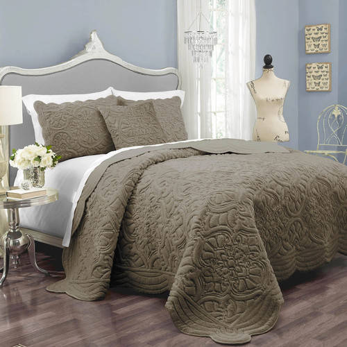 Vue Signature Charlotte Polyester 3 Piece Coverlet Set by Ellery Homestyles Studio