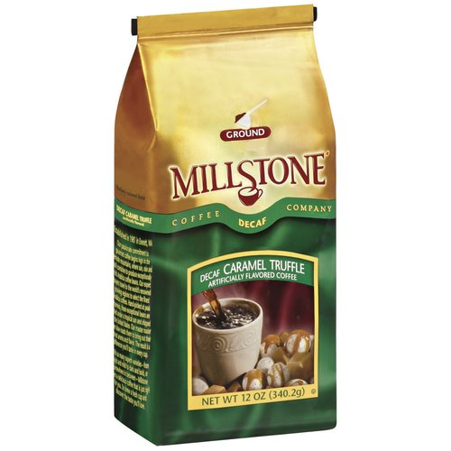 Millstone Decaf Caramel Truffle Ground Coffee, 12 oz