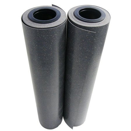 Terra Concrete - Rubber-Cal Terra Flex Premium Rubber Rolls Garage Flooring