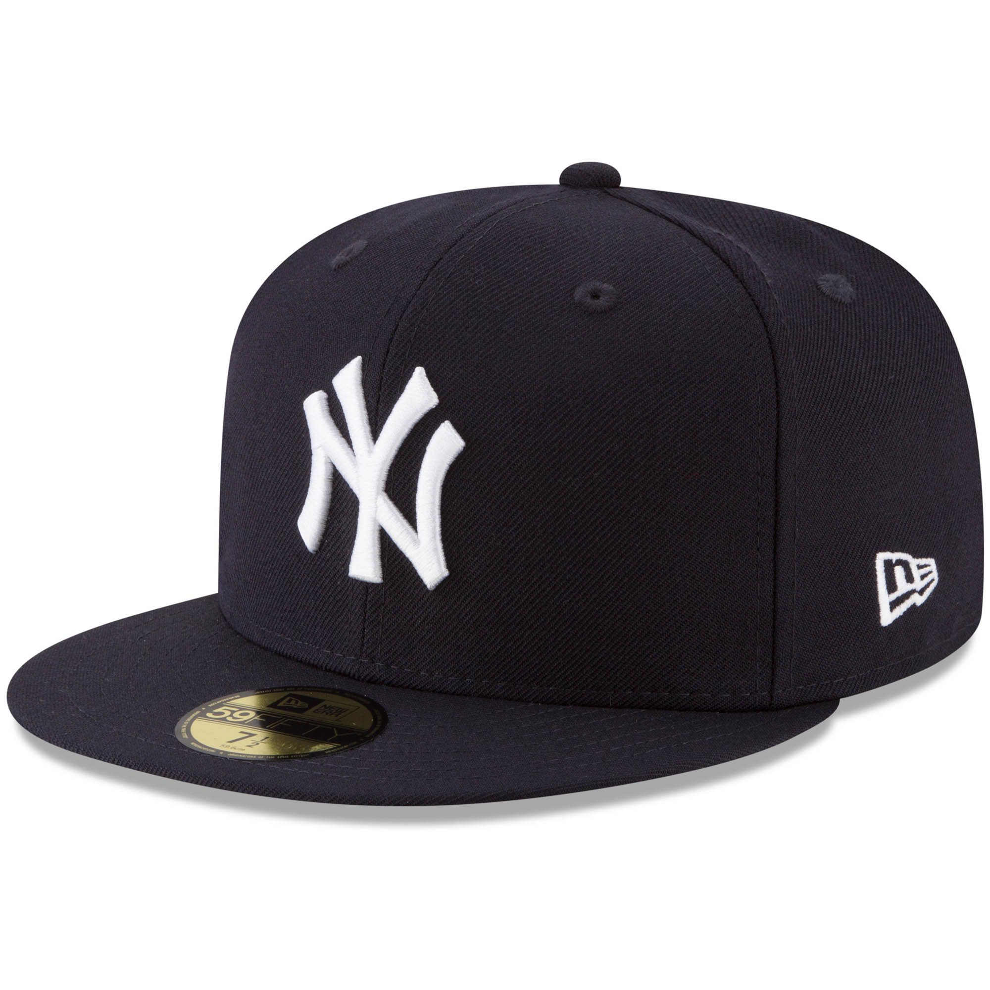 19cd79d67c98da New York Yankees New Era Cooperstown Collection 2009 World Series Side  Patch 59FIFTY Fitted Hat - Navy - Walmart.com