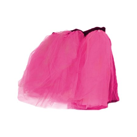 Pink Retro 80s Colorful Neon Assorted Color Tu Tu Tutu Skirt Costume Accessory