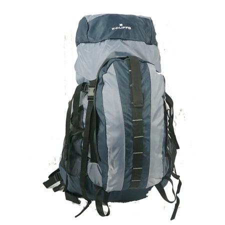 K Cliffs Hiking Backpack Scout Camping Backpack Large Internal Frame Daypack Travel Pack Bag Navy