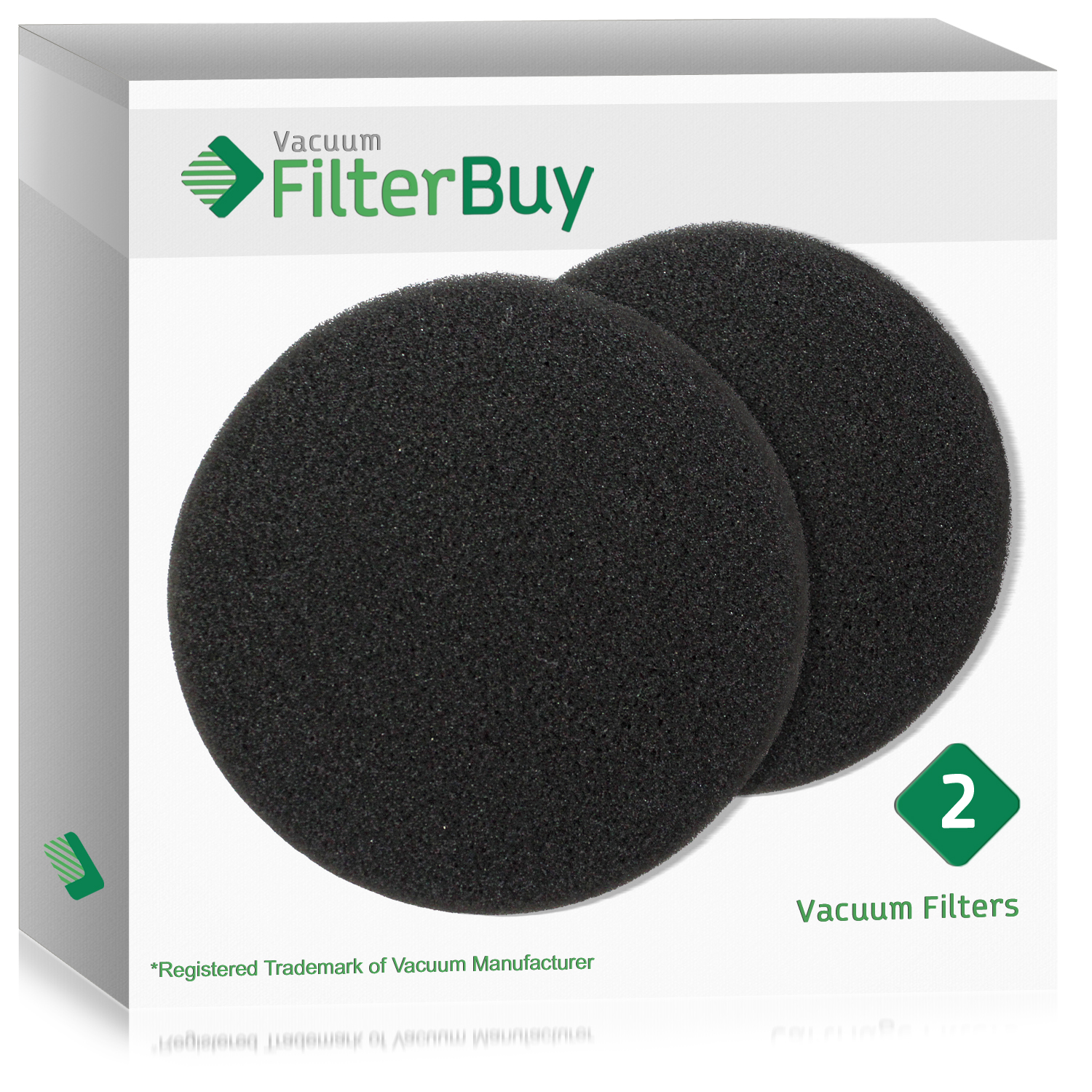 2 - Eureka DCF-26 (DCF26) Filters, Part # 68465a & 68465.  Designed by FilterBuy to fit Eureka AirSpeed Upright Vacuum Cleaners.